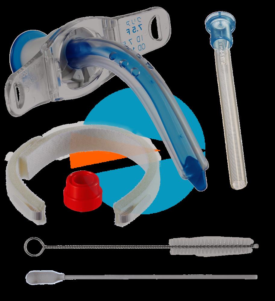 Трахеалкит® | трахеостомическая фенестрированная трубка Sofit CLEAR F без манжеты