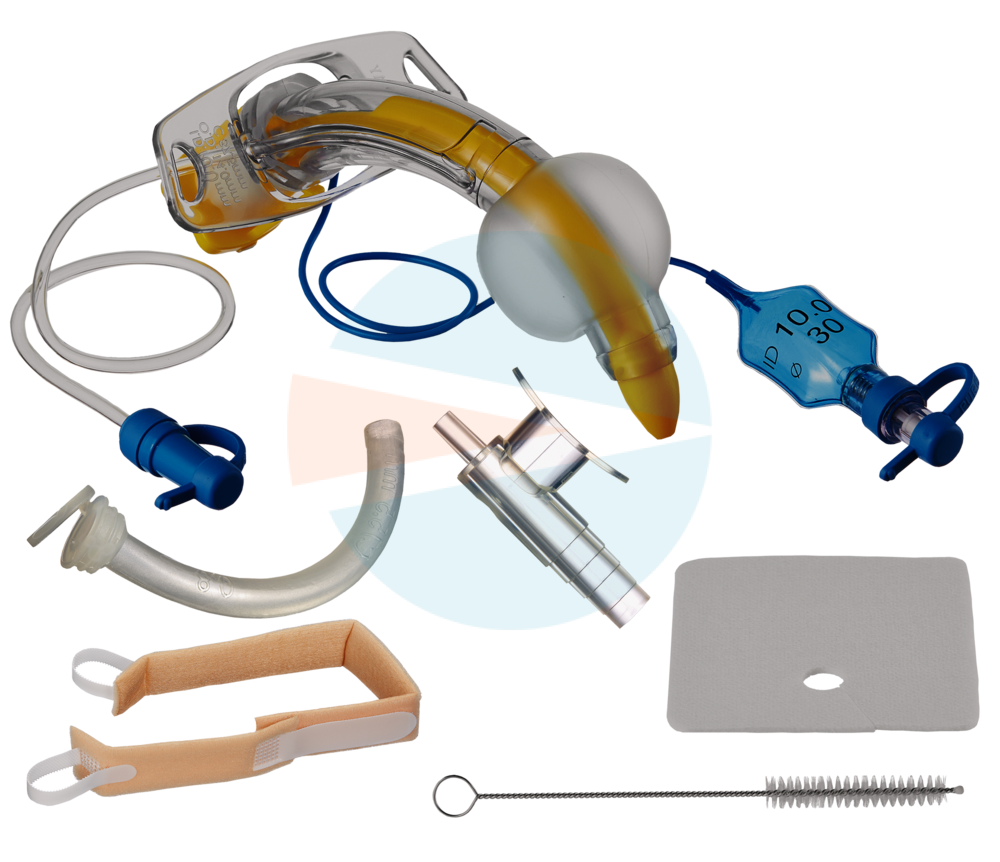 Трахеалкит® | трахеостомическая трубка с манжетой и каналом для санации, внутренние трубки